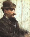 Portrait of Alphonse Maureau (Man with a Round Hat) 1880 - Edouard Manet