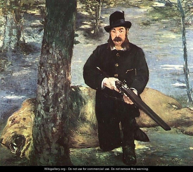Pertuiset, Lion Hunter 1881 - Edouard Manet