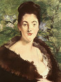Lady with a Fur 1880 - Edouard Manet