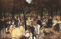 Concert in the Tuileries 1860-62 - Edouard Manet