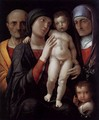 The Holy Family 1495-1500 - Andrea Mantegna