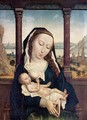 The Virgin and Child (attributed to Marmion) 1465-75 - Simon Marmion