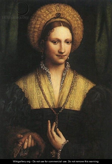 Portrait of a Lady c. 1525 - Bernardino Luini