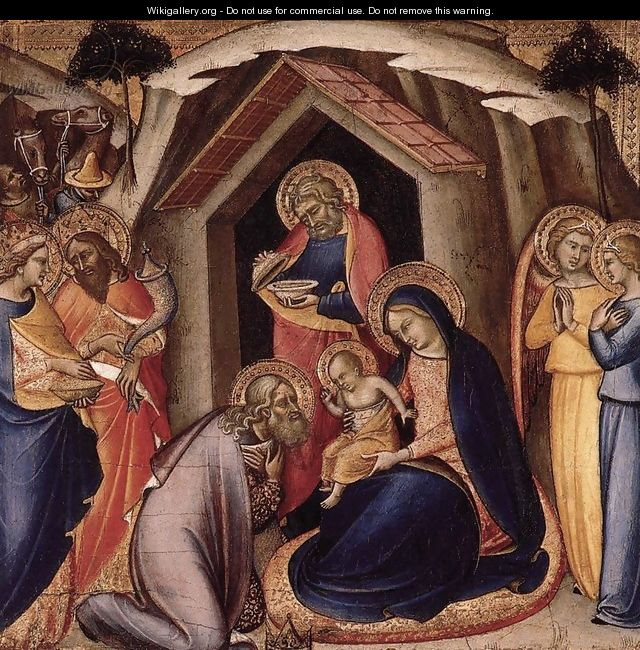 Adoration of the Magi 1360-65 - Luca Di Tomme