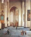 Interior of the St Laurenskerk in Rotterdam 1660-65 - Anthonie De Lorme