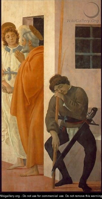 St Peter Freed from Prison 1481-82 - Filippino Lippi