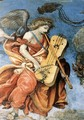 Assumption and Annunciation (detail-2) 1489-91 - Filippino Lippi