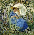 In the Garden, Giverny - Frederick Carl Frieseke