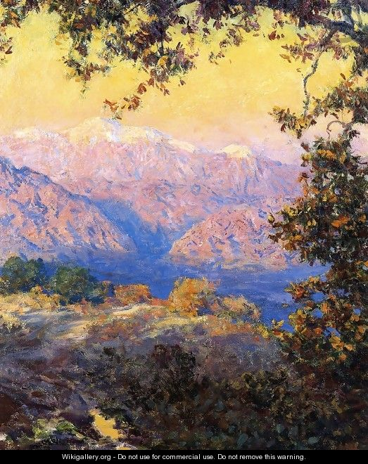 November Morning I - Theodore Clement Steele