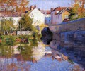 Beside the River (Grez) - Robert William Vonnoh