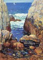 Sea and Rocks, Appledore, Isles of Shoals - Frederick Childe Hassam