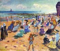 Beach Scene - William Samuel Horton