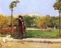 In the Park, Paris - William Merritt Chase