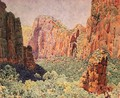 Temple of Sinawava - Zion National park - Gunnar Mauritz Widforss
