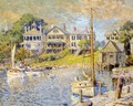 At Edgartown, Martha's Vinyard - Colin Campbell Cooper