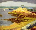 Foggy Bank, Rocky Neck - John Sloan