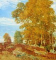 Autumn Hilltop, New England - Frederick Childe Hassam