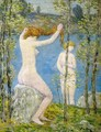 Untitled (Study for 'Bathers') - Frederick Childe Hassam
