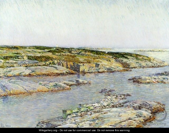 Summer Afternoon, Isles of Shoals - Frederick Childe Hassam