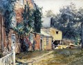 Old House, Nantucket - Frederick Childe Hassam