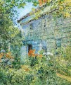 Old House and Garden, East Hampton - Frederick Childe Hassam