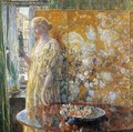 Tanagra: The Builders, New York - Frederick Childe Hassam