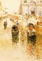 Gondoliers - Frederick Childe Hassam