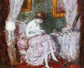 Woman at a Dressing Table - Frederick Carl Frieseke