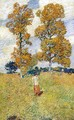 The Two Hickory Trees - Frederick Childe Hassam