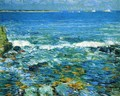 Duck Island from Appledore - Frederick Childe Hassam