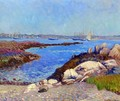Portsmouth Harbor, New Hampshire - William Glackens