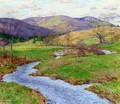 Swollen Brook (No. 2) - Willard Leroy Metcalf