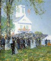 Country Fair, New England - Frederick Childe Hassam