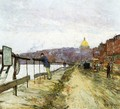 Charles River and Beacon Hill - Frederick Childe Hassam