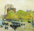 Spring Morning in the Heart of the City - Frederick Childe Hassam