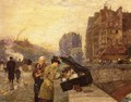 The Quai St. Michel - Frederick Childe Hassam