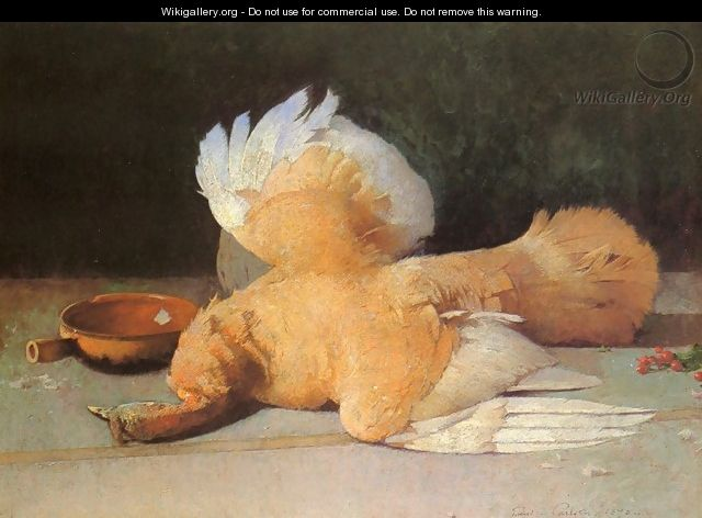 Still Life with Dead Game - Emil Carlsen