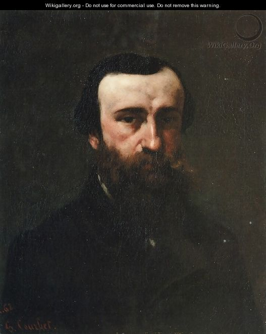 Portrait of Monsieur Nicolle - Gustave Courbet