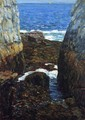 The North Gorge, Appledore, Isles of Shoals - Frederick Childe Hassam