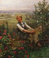 Woman at Rest - Daniel Ridgway Knight