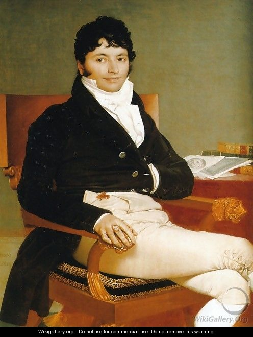 Philbert Riviere - Jean Auguste Dominique Ingres