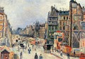 The Opening of the Rue Reaumur - Maximilien Luce
