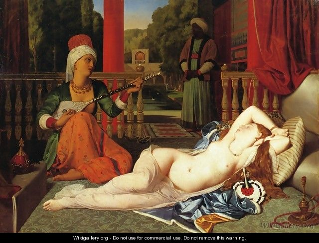 Odalisque with Female Slave I - Jean Auguste Dominique Ingres