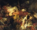 The Death of Sardanapalus - Eugene Delacroix