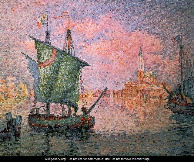 Venice - The Pink Cloud - Paul Signac
