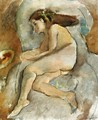 Nude in an Armchair I - Jules Pascin