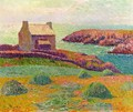 House on a Hill - Henri Moret