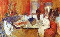 In the Red Room - Edouard (Jean-Edouard) Vuillard