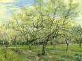 Orchard with Blossoming Plum Trees - Vincent Van Gogh