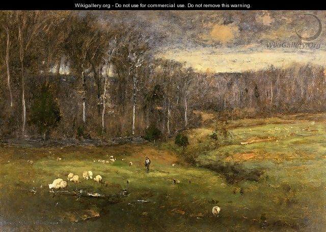 Frosty Morning, Montclair - George Inness